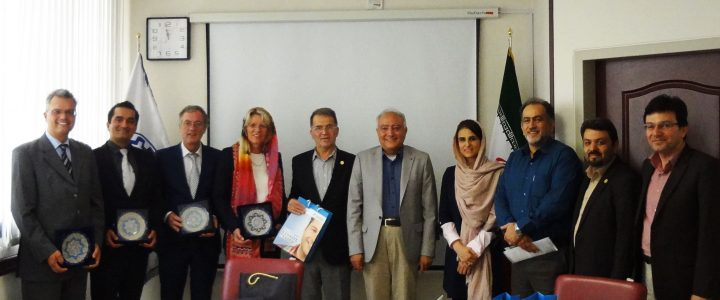 An Academic Delegation from FHM, Germany in Sharif