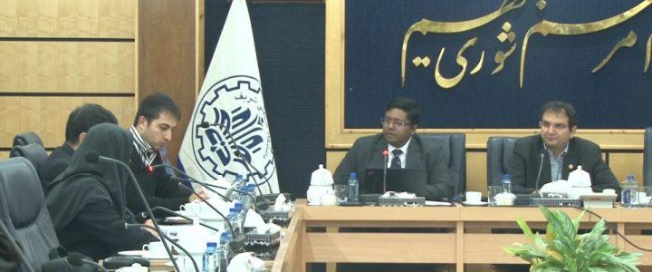 Regional Director of QS Intelligence Unit in Sharif