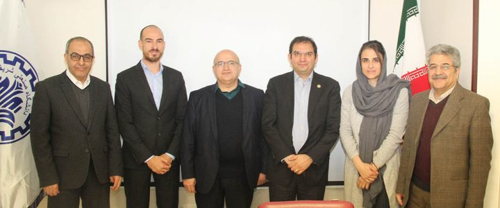 An Academic Delegation from France in Sharif