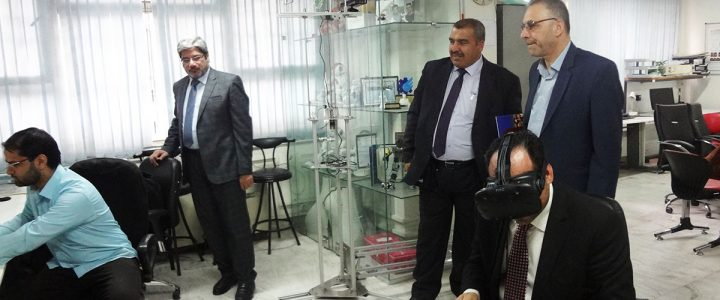 An Academic Delegation from the University of Kufa, Iraq in Sharif
