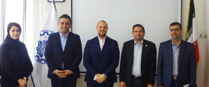 A Business Delegation from Nestle Visited Sharif