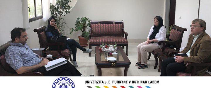 Representative of University of Jan Evangelista in Ústí nad Labem (UJEP) in Sharif University of Technology