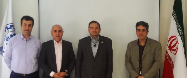 A Delegation from Iraqi Kurdistan at Sharif University of Technology