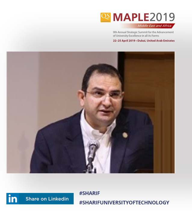 Arash Simchi at MAPLE 2019
