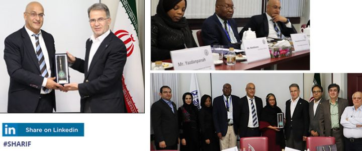 A Delegation from South African Ministry of Higher Education, Science, and Technology at Sharif University of Technology
